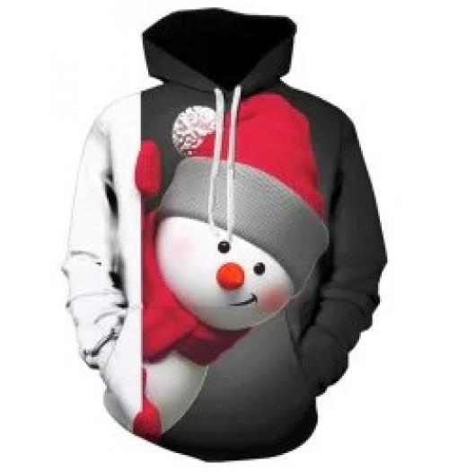 Kersttrui model Snowpop 3D