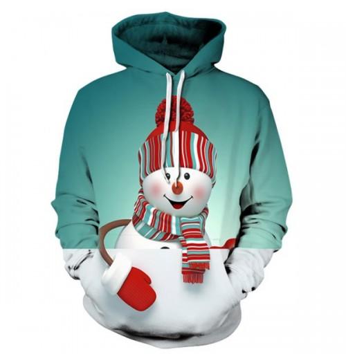 Kersttrui model Snowman 3D