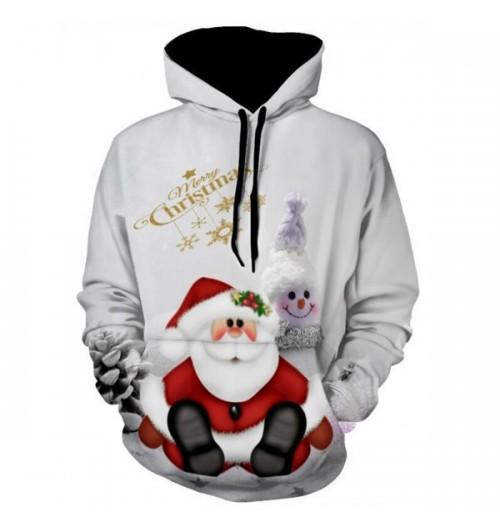 Kersttrui model Snowman Print Pullover