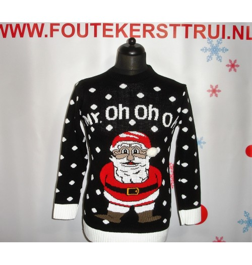 Kersttrui model My oh oh oh