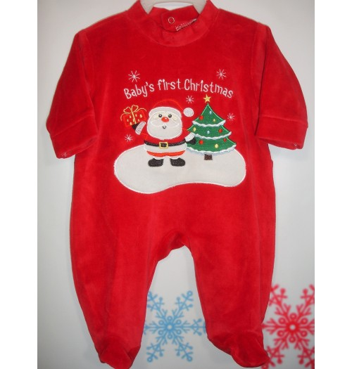 Kersttrui model Baby`s first Christmas