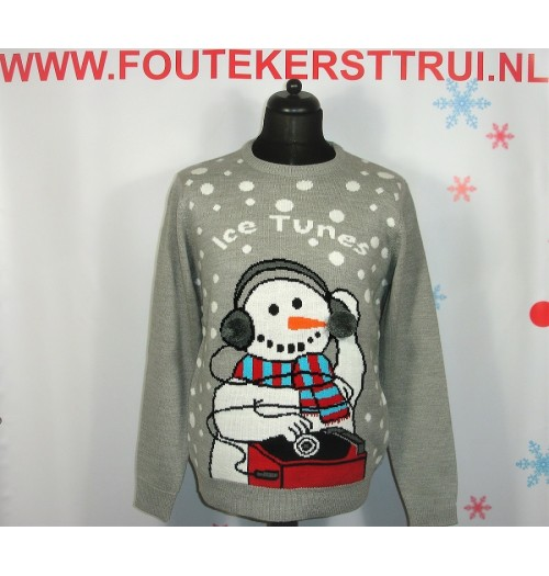 Kersttrui model Ice tunes