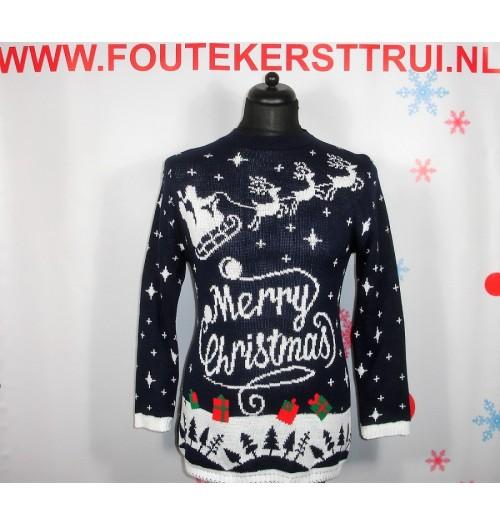 Kersttrui model Merry Christmas