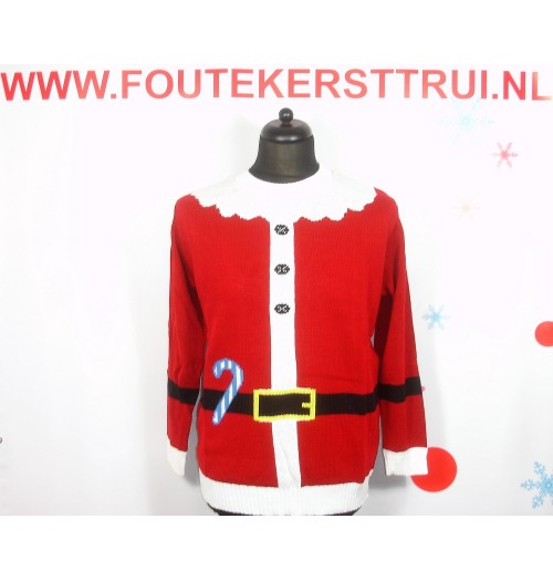 Kersttrui model New Santa Jacketknit
