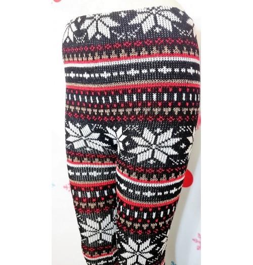 Winterlegging Rood Zwart Wit