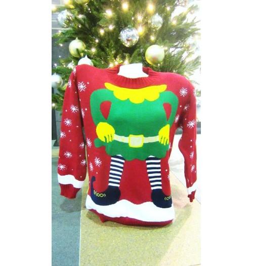 Kersttrui model Santa Nar speciaal