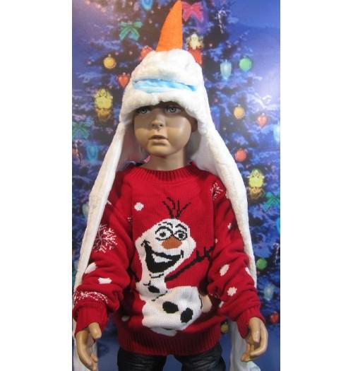 Kersttrui Olaf.Kersttrui Model Olaf Jump